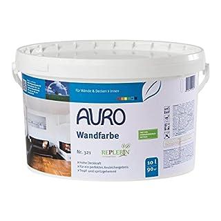 AURO Wandfarbe ohne Konservierungsstoffe - Nr. 321 - 10 Liter