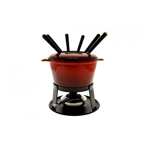 Tableandcook - hhf0255 - Service à fondue 6 fourchettes rouge