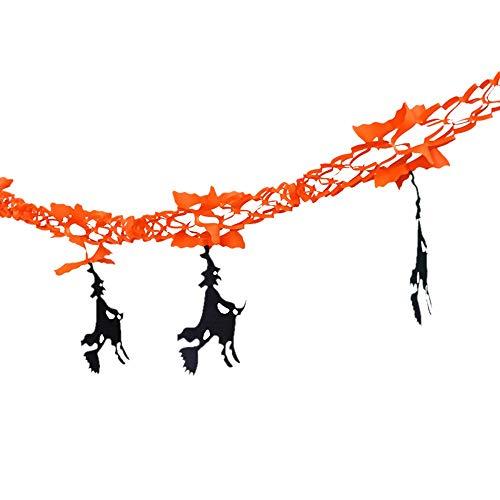 VEMOW Heißer Happy Halloween Party Dekoration Flagge Haushalt -