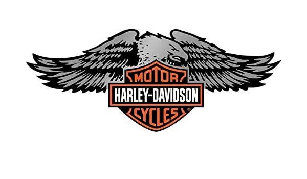 Stickers r/étro r/éfl/échissant pour Casque de Moto Harley Davidson centenaire