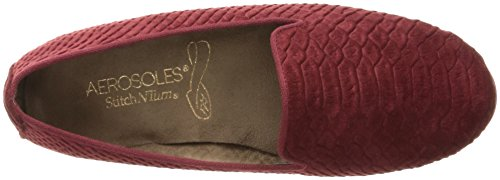 Aerosoles Betunia Rund Stoff Slipper Red Snake