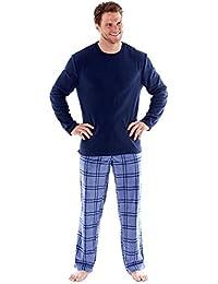 Harvey James - Pijama de Forro Polar térmico para Hombre