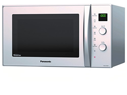 Panasonic NN-CD575MEPG - Horno microondas slim Inverter,
