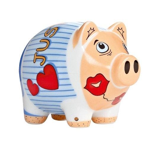 Sparschwein - klein Zwischenraum 2012 / Ritzenhoff/Piggy Bank/Sammlerstück/Porzellan/Spardose