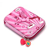 ShopNGift Premium Stylish Unicorn Print Large Capacity Hardtop EVA Pencil Case Organizer School