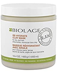 Matrix Biolage r.a.w. Rehydrate Clay Mask Masque cheveux secs 400 ml