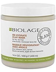 Matrix Biolage r.a.w. Rehydrate Clay Mask Masque cheveux secs 400ml