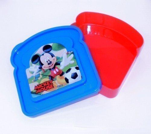 cky Maus Toast Geformte Pausenbrot Dose Lunch Box Brotdose ()