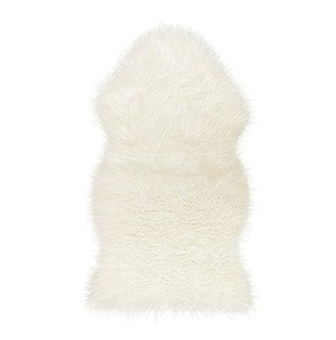 Lammfellimitat Teppich,Gemütliches Gefühl wie echter