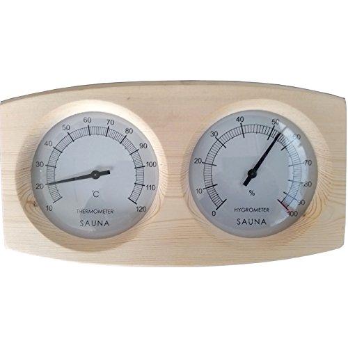 Sauna Thermometer Hygrometer ANNA MODERN Saunazubehör Klimamesser