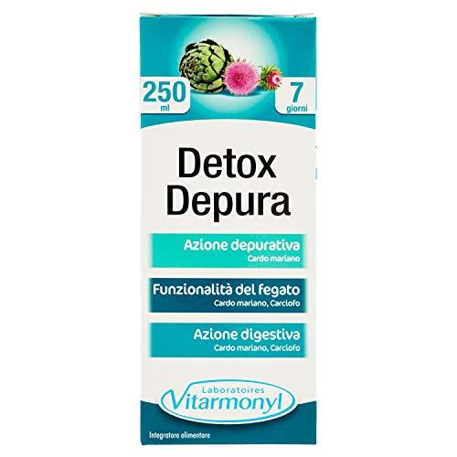 Vitarmonyl DETOX DEPURA ● Integratore flacone da 250ml ● Azione depurativa ● Registrato Ministero Salute Italiano