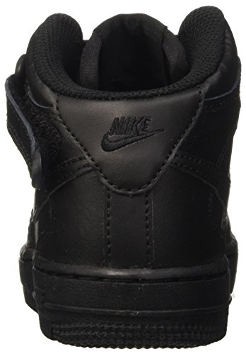 Nike Force 1 Mid Ps, Scarpe da Basket Bambino Nero