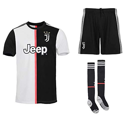 TOP LUCKY 2019/2020 (Heim & Auswärts) Fußball Trikotsets für Männer und Kinder, personalisierte Club Trikotsets mit Namen und Nummer für Fußballvereine mit T-Shirt-Hosen-Socken