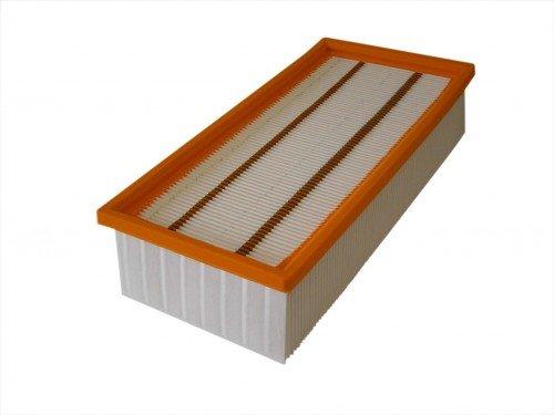 daniplus© Flachfaltenfilter, Filter, Luftfilter 300x140x68 passend für Kärcher NT 65/2 Eco, NT65, 6.904-283