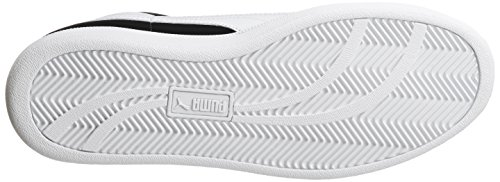 Puma Puma Smash Buck, Unisex-Erwachsene Sneakers Schwarz (black-white 02)