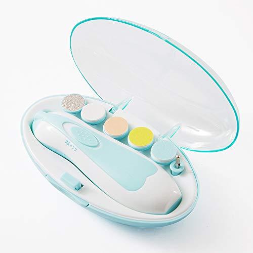 BUG-L Lime Ongles pour Bébé, Multi-Function Child Beauty Trim Ciseaux Ongles pour Bébé, Polisseur Coupe Electrique Personnalisé