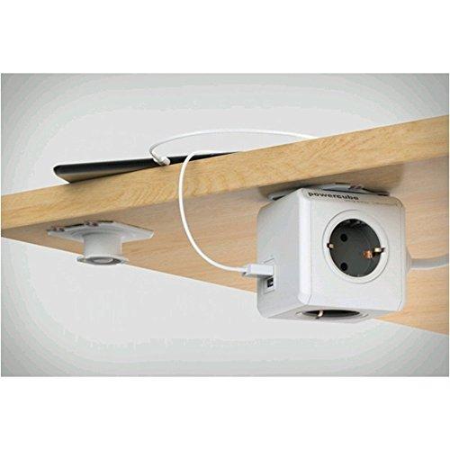 Allocacoc 1407/DEEUPC - PowerCube (Extended USB 3 m) 4 Salidas + 2...
