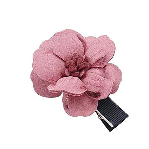 1PC mignon enfants filles Grande Fleur Cheveux clips Headwear Accessoires Cadeau