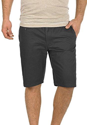 Twill-hose Kurz (BLEND Sasuke Herren Chino Shorts kurze Hose, Größe:XL;Farbe:Phantom Grey (70010))