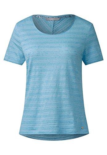 CECIL Damen Lässiges Streifen Shirt blue topaz (blau)