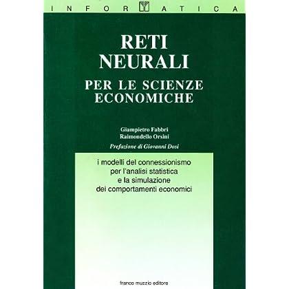 Reti Neurali Per Le Scienze Economiche