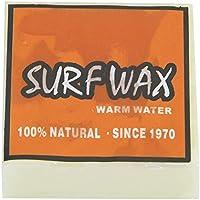 NCONCO Cera de Surf Antideslizante Tabla de Surf Skimboard Ceras de Skate (Naranja)