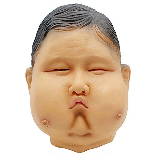 ekorationen Parodie Masken, Excrement Geformt und Cosplay Requisiten Latex DIY Scary Man Parodie Masken ()