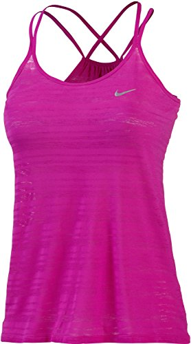 Canotta da donna NIKE Dri-fit Strappy Cool Breeze Rosa - rosa