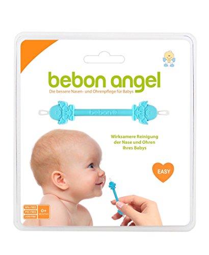 Bebon Angel – der bessere Nasenreiniger und Ohrenreiniger für Babys | Sichtbar wirksamer als Nasensauger / Nasensekretsauger