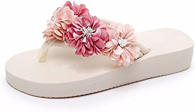 LIUXINDA-XZ Nuevos Productos de Moda española Sandalias de Verano Sandalias y Flip-Flops, Hermosas, Espesor, Durchschritten...