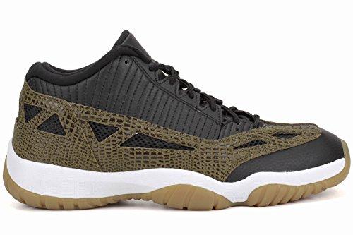 Nike  Air Jordan 11 Retro Low, Sandales pour femme Multicolore - Negro / Verde (Blk / Mlt Grn-Gm Yllw-Infrrd 23-)