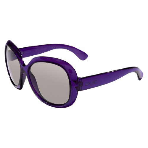 EX3D 1013 Polfilterbrille Junior Girls lila/glitzer