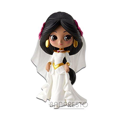 Jasmine Collection Figure 14cm White Wedding Dress - Aladdin - QPOSKET Series Banpresto Disney Characters Dreamy Style - Version B