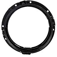 Soporte de anillo redondo para faros delanteros de motocicleta de 7 pulgadas, soporte de montaje negro cromado