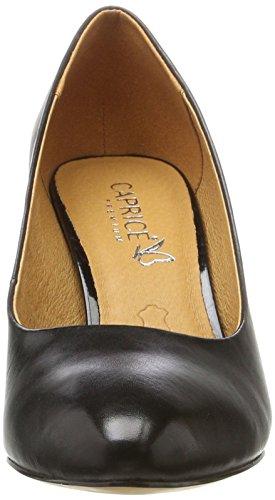 Caprice 22409, Escarpins Femme Noir (3)