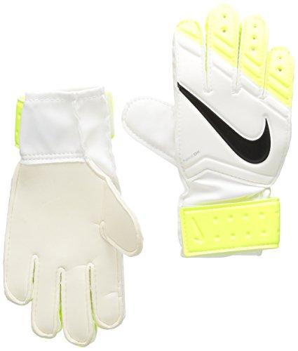 Nike GK JR Match Guanti da Portiere, Giallo/Nero, 6.5C
