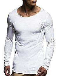 LEIF NELSON Herren oversize Sweatshirt Hoodie Hoody LN6302