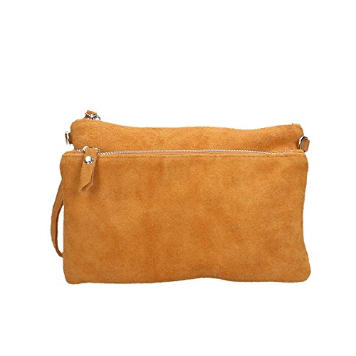 Chicca Borse Borsa a tracolla in pelle 24 x 17 x 4 100% Genuine Leather Cuoio