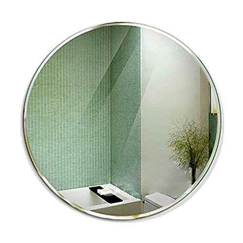 SDK An der Wand befestigte Eitelkeits runde Frameless Badezimmer abgeschrägte Kante mit Wand-hängenden Befestigungs-Hardware für Badezimmer-Waschraum ø70CM -