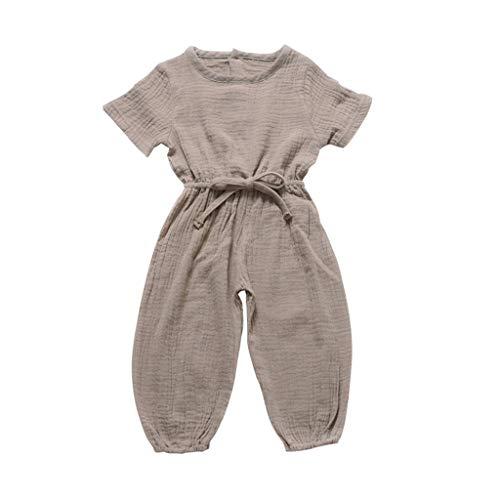 Spielanzug Baby Mädchenkleidung Set Sommer Strampler Papa Pwtchenty Jungen Outfits Kleidung Set Bekleidungsset Bodysuit Kleidung Outfit - Denim-shorts Strampler