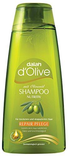 Dalan d'Olive Proteinshampoo, 2er Pack (2 x 400 ml) -