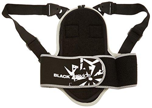 *Black Crevice Kinder und Erwachsenen Rückenprotektor, schwarz, XL*