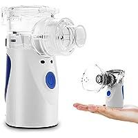 Preisvergleich für Tragbarer Inhalator Vernebler für Kinder, Erwachsene, Erwachsene, Atomisierte, wirksam für AtemwegserkrankungenPartikel