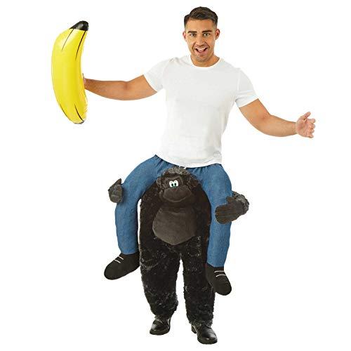 tume Kostüm, Gorilla Lift Me Up, Einheitsgröße ()