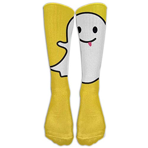 s Snapchat Ghost Casual Athletic Socks Novelty Calf -