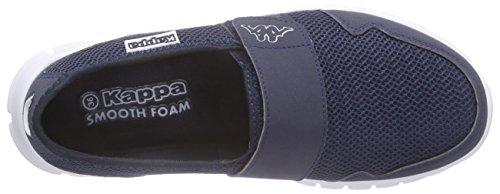 Kappa Faro Light Footwear Unisexe, Maille / Synthétique, Mocassini Unisexe - Adulto Blu (marine / Blanc)