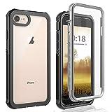Cover iPhone 6/iPhone 6S/iPhone 7/iPhone 8 Custodia [Thin Fit 360] Caso Protezione Slim con Proteggi Schermo Custodia Antiurto Cover per iPhone 6/iPhone 6S /iPhone 7/iPhone 8