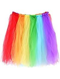 Fancy Dress Rainbow Tutu Skit Gay Pride Accessory - One size