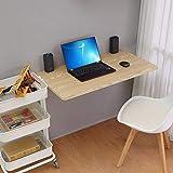 A-Fort Tisch Weiße Wand hängenden Tisch, Wand hängenden Tisch, Wand Massivholz Esstisch, Computer Schreibtisch Arbeitstisch (Holzbrett Material Holz Farbe 40 * 30cm) (Farbe : Bunte)