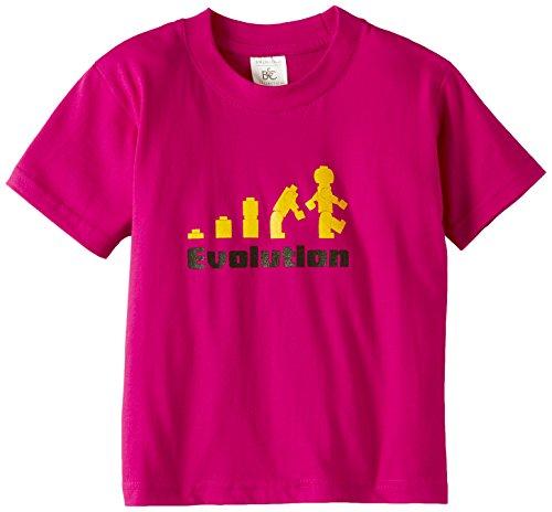 Touchlines Kinder T-Shirt Evolution, sorbet, 134/146, KID130 (Kinder-sweatshirt Affe)